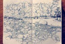 illustration u sketches