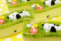 Puding art / All decoration on pudding