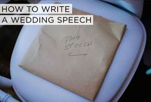 Wedding speeches / Wedding speeches from STG's real Jewish weddings - yes, from brides, too!