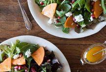 Autumn salads