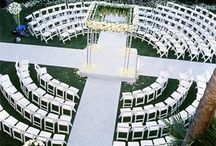Unique Wedding Seating ideas / Ideas for Unique Ceremony and Reception Seating