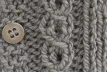 Knitting,crochéting