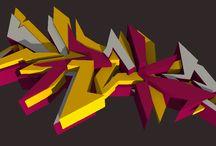Graffiti art by MMDrake / Graffiti art by MMDrake