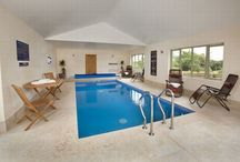Crowcombe / Self catering lodge sleeps 14 with private indoor pool - http://www.groupstays.co.uk/