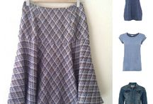 Sewing ideas / Inspiration for sewing my own clothes, fashion, home and accessories