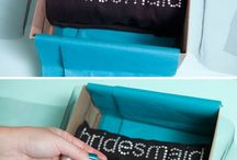 Bridesmaids and groomsmen gifts