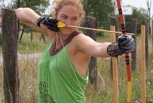 Stock - female archer