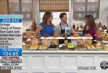 Tortuga Rum Cakes on HSN TV / Tortuga Rum Cakes on HSN TV