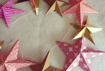 Holiday Paper Art / DIY paper projects for home decor.