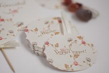 Wedding Dessert Cards