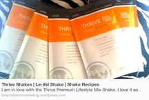 THRIVE ON!! / Healthy clean lifestyle  / by Kellie Jones-Dobbins