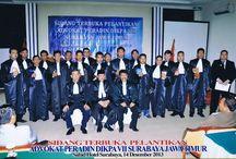 Pelantikan Advokat Peradin / Sidang Terbuka Pelantikan dan Penyumpahan Advokat yang Dilakukan oleh Peradin