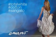 Emamò 2015 Total White collection / #Emamò Beachwear Total White collection: each garment is an unique piece, a perfect harmony of craftsmanship, exclusive fabrics and precious embroideries. http://marebeachwear.com/en/emamò-2 #Emamò #Beachwear #TotalWhite #Sangallo #Cotton #Fashion #Style #SpringSummer15