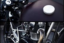 Bikes / Old style motorcycles