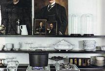 Kitchen Inspiration / Kitchen design, layouts, farmhouse kitchens, modern kitchens. Design Is Inspired By Everything