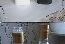 dekor flaše,váza,miska,krabica