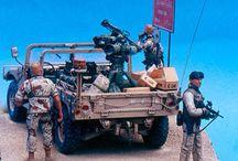 Military Miniature 1/35 scale / Jeep, Truck,MATV,gun truck and soft skin