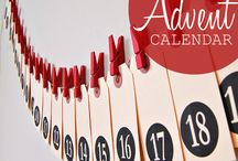 advent candles and calendars / by Brigitta Barile