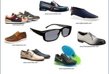 Man stuff / Things men love: shoes, watches, sunglasses and more