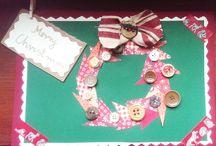christmas card DIY kids