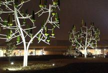 COP21. Paris Le Bourget 2015 / NewWind plante des Arbres à Vent à la COP21 Paris Le Bourget, grâce au mécénat de la Fondation Engie