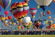 Up, Up and Away! / Hot air balloon love!!