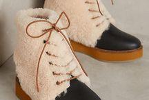Shearling shoes