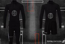 Running apparel / TOTALOXYGEN run collection