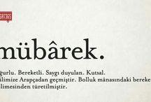 Türkçe lugat