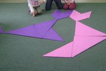 Tangram   / Fotografije aktivnosti sa decom na temu tangrama i ostali resursi o tangramu