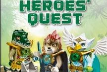 New LEGO Book arrival-DK Readers: Lego Legends of Chima: Heroes' Quest [Paperback]