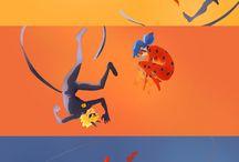Ladybug y Catnoir