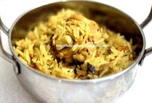 Biryani / Fried Rice / Pulav / Pilaf