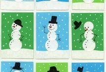 Winter art project