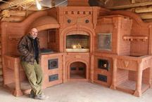 WOOD FIRED KITCHEN / STOVES,OVENS,WOOD,FIRE