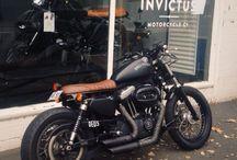 Harley iron café racer