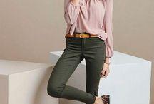 Green/khaki pants
