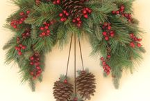 Fir cone decorating ideas / Christmas
