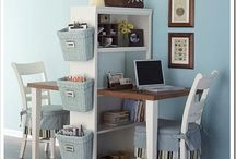 Office makeover ideas / by Allena Tapia @ GardenWall Publications