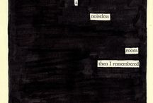 ↠ blackout poetry.