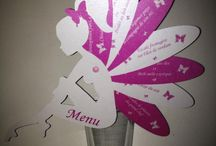 carte pour menu