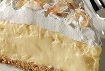tarte a la crème et aux noix de coco