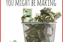HOMEMAKING {Managing the Money} / Frugal living, money management, budgeting... all things related to living within your means.