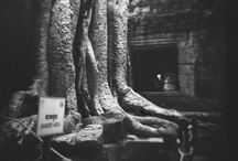 Angkor Wat Shot With a Diana: A Photo Essay in Black & White