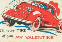 Your Valentine / Valentine's Day themed motor vehicles.