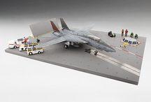 1/72 Aircraft Carrier Deck Base I (TSMWAC001)