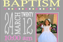 Baptism Ideas / Ideas to use in years to come when my children have grown up.