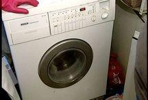 Pračka čištění,koupelna