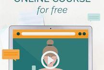 O N L I N E  C O U R S E S / Online course creation, online course tips, online course design.