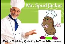 Microwave Cooking With Mr. Spud JAcket / http://youtu.be/-9zTS8Y2FMw Okay here's what you have been waiting for cooking a two baked potatoes in a Mr. Spud Jacket Microwave Cooking Bag in just 6 minutes..Enjoy